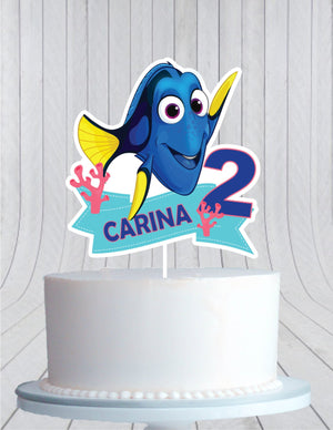 Dory Cake Topper, Birthday Cake Topper