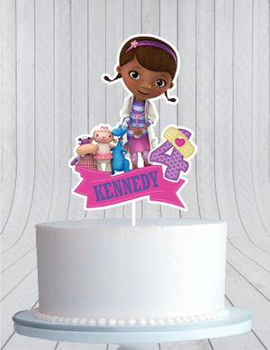 Doc McStuffins Birthday Cake Topper