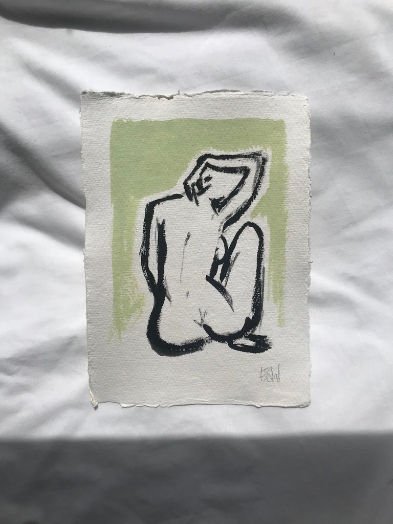 Untitled original artwork - woman 1