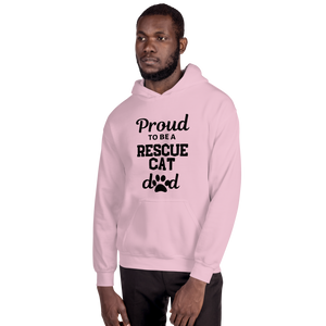 Hettegenser (unisex): Rescue cat dad