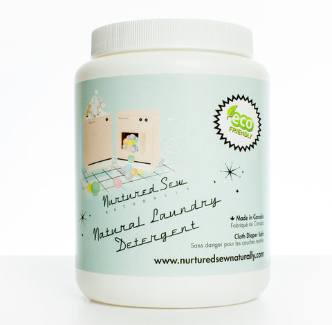 Natural Laundry Detergent - Powder - NurturedSewNaturally