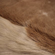 Cowhide Rug Exotic White and Brown