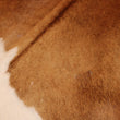 Cowhide Rug White and Brown