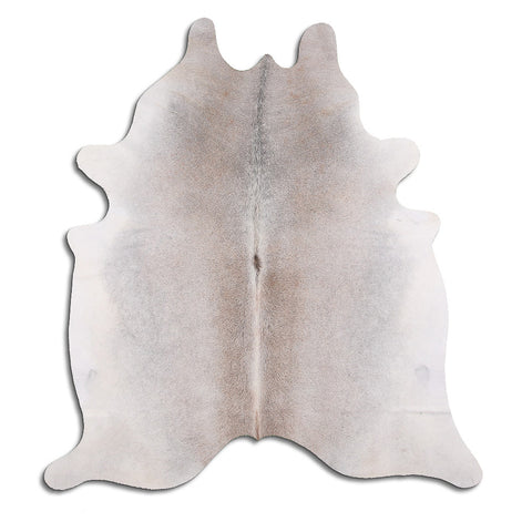 Cowhide Rug Natural Grey C504