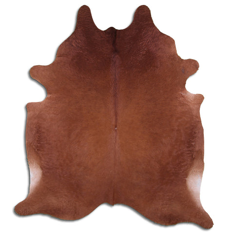 Cowhide Rug Brown C506