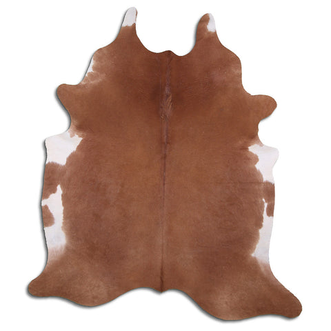 Cowhide Rug Brown C507