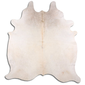 Cowhide Rug Exotic Light Champagne C513