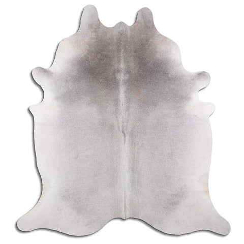 Cowhide Rug Natural Grey C550
