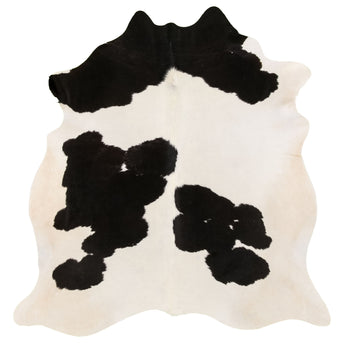 Cowhide Rug Black and White C324