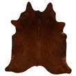 Cowhide Rug Brown C357
