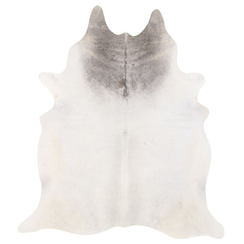 Cowhide Rug Natural Grey C270