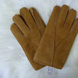 Men's Sheepskin Gloves Suede