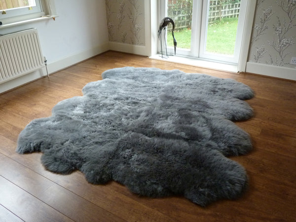 Sheepskin Rug Octo Grey