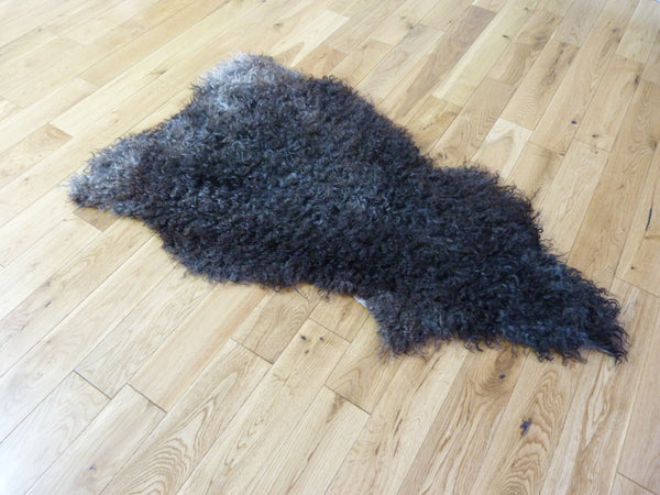 Gotland Sheepskin Rug Natural Grey GOT139