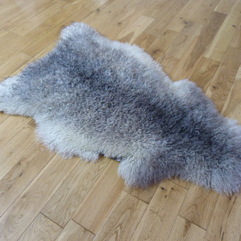 Gotland Sheepskin Rug Natural Grey GOT140