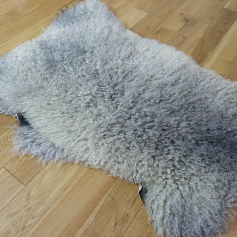 Gotland Sheepskin Rug Natural Grey GOT141