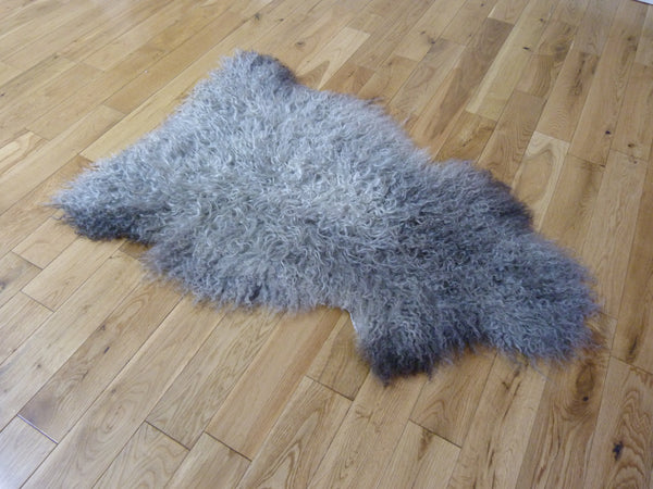 Gotland Sheepskin Rug Natural Grey GOT142