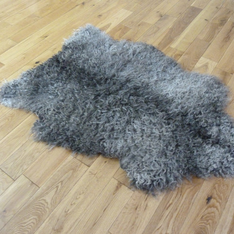 Gotland Sheepskin Rug Natural Grey GOT143