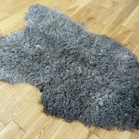 Gotland Sheepskin Rug Natural Grey GOT144