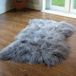 Icelandic Sheepskin Rug Grey Triple