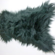 Icelandic Sheepskin Rug Bottle Green