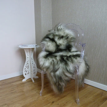ICELANDIC SHEEPSKIN RUG DARK TOPS