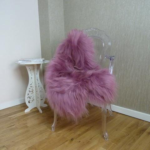 Icelandic Sheepskin Dusty Rose