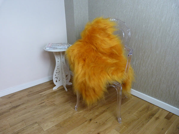 Icelandic Sheepskin- Golden Yellow