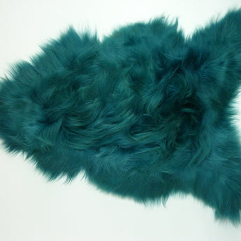 Icelandic Sheepskin Rug Green