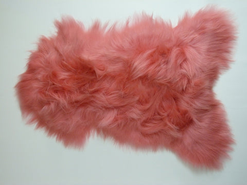 Icelandic Sheepskin Light Coral