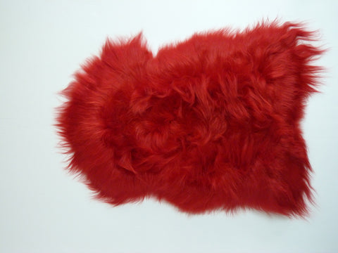 Icelandic Sheepskin Red