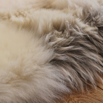 Mixed UK Sheepskin Designer Rug SM13