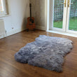 Icelandic Sheepskin Rug 4 Skin Grey Shorn