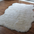 Icelandic Sheepskin Rug 4 Skin Natural Shorn