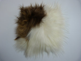 Icelandic Sheepskin Chair Pad Rusty Spotted