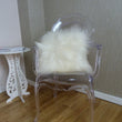Icelandic Sheepskin Cushion Ivory