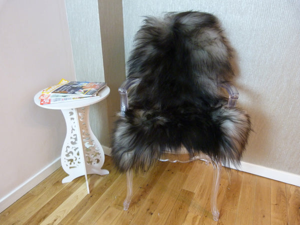 Natural Grey Icelandic Sheepskin Rug ING294