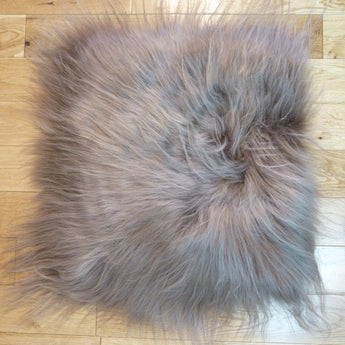 Icelandic Sheepskin Chair Pad Taupe