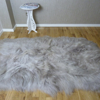 Icelandic Sheepskin Linen Colour Rug