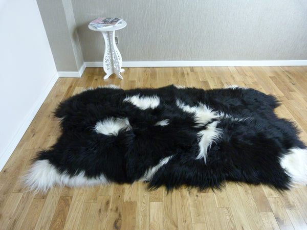 Icelandic Sheepskin Rug 4 Skin IS4S-44