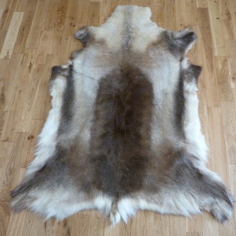 Large Reindeer Hide Rug R1121