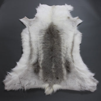 Light Reindeer Hide Rug R220