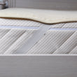 Merino Wool Mattress Topper/Underblanket Ivory - Double Layer