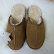 Natural Sheepskin Men's Slippers