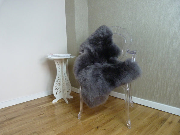 Sheepskin Rug UK - Pencil Grey