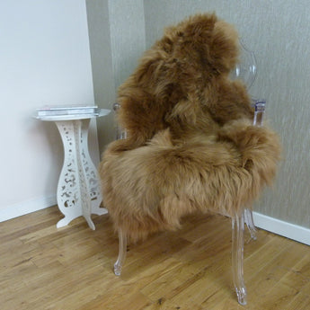 Sheepskin Rug UK - Camel Brown