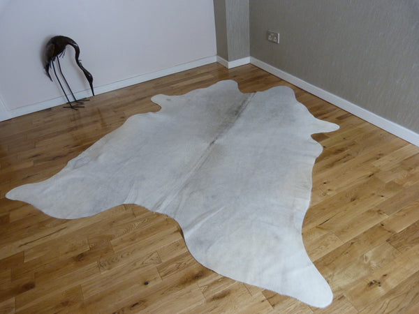 Cowhide Rug Natural Grey C1166