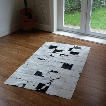 Patchwork Cowhide Rug PATCH57