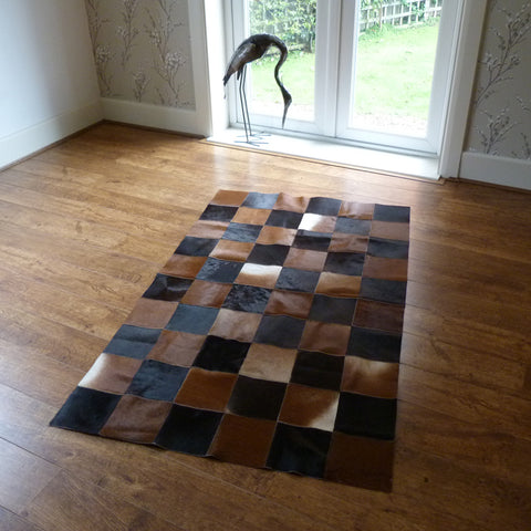Patchwork Cowhide Rug PATCH142