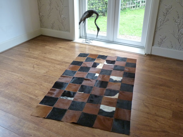Patchwork Cowhide Rug PATCH145